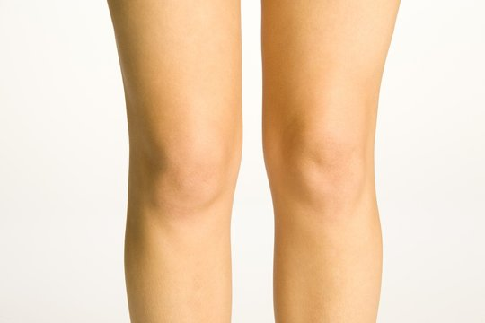Young Woman's Knees