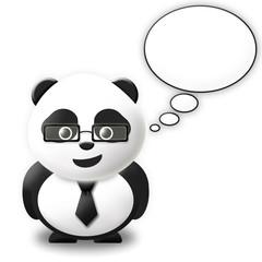 Talking bubble Panda