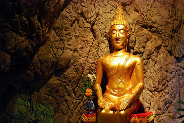 Image of Buddha in The Cave