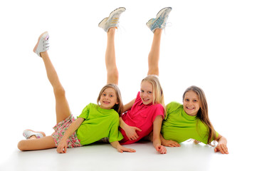 Gymnastic pyramid - Buy this stock photo and explore similar images