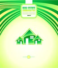 Real Estate Background for Brochures