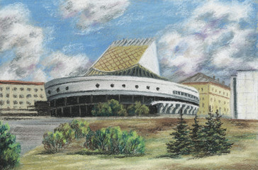 Theatre the Globe, Russia, Novosibirsk