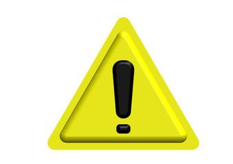 Warning Triangular Sign