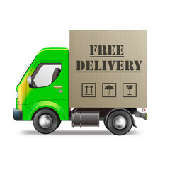 free delivery truck