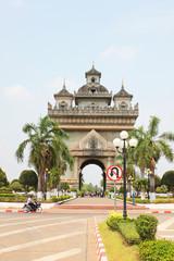 Temple, Vientiane, Laos.