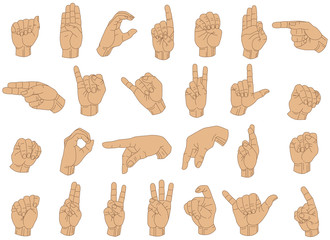 Sign Language Hands