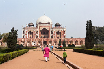 Printed roller blinds Delhi Meczet Jama Masjid, Delhi, Indie