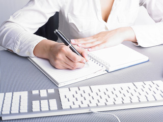 Office Assistant writing Schedule