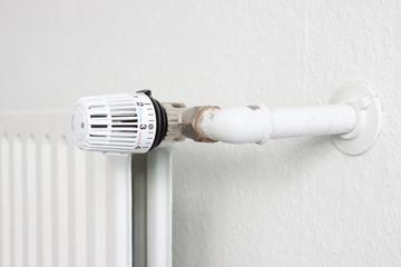 Heizung Heizkörper mit Thermostat
