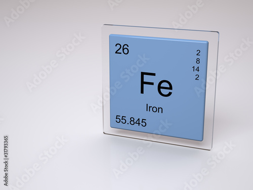Iron symbol fe chemical element of the periodic table stock iron symbol fe chemical element of the periodic table urtaz Choice Image
