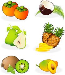 Frutta esotica e mediterranea