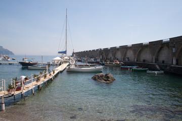 Fototapete - Amalfi-porticciolo