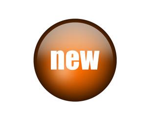 Orange new Button