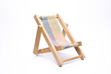 beach chair isolated