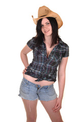 Pretty cowgirl.