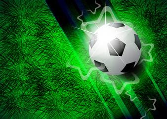 Modern football background