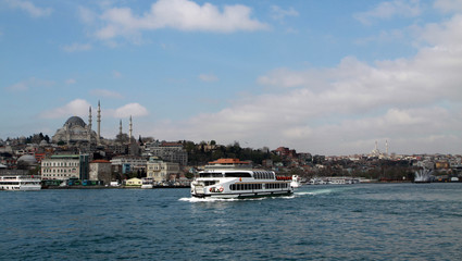 A view of istanbul, Turkey.