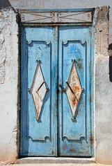 Blaue Tür auf Djerba