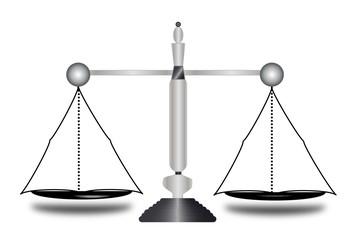 Justicia,balanza equilibrada