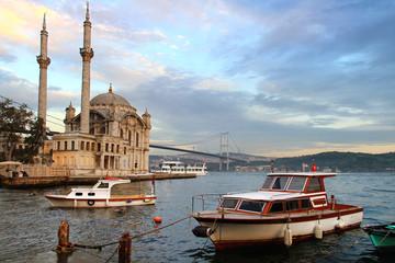Ortakoy evening in Istanbul