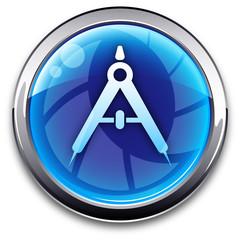 blue Button: compass