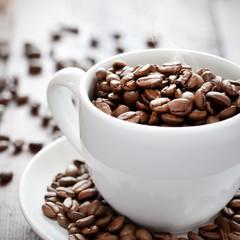 frische Kaffeebohnen