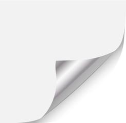 Zettel umblättern