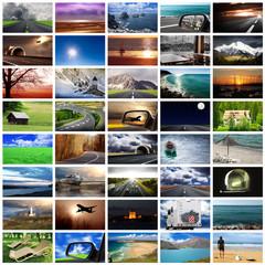 viaggiare collage