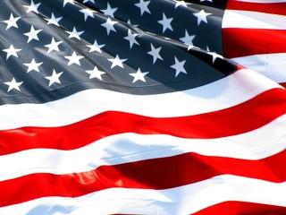 Etoiles et bandes du drapeau des U.S.A.