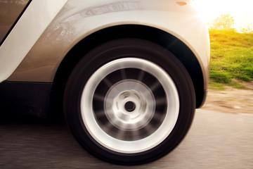 Fototapete - Wheel