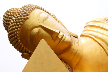 Reclining buddha, Wat Khao Angkarn, Buriram, Thailand