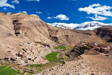 Maroc: landscape of Dades Valley