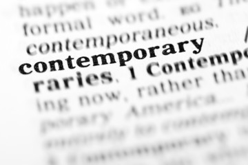 contemporary (the dictionary project)