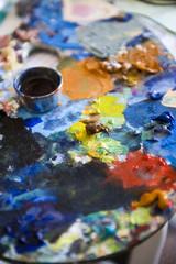 palette artiste
