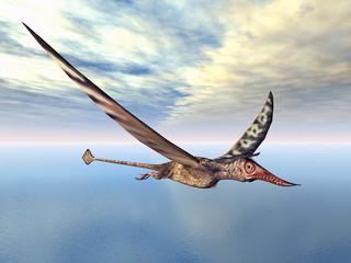 Flugsaurier Rhamphorhynchus