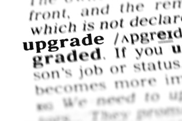 upgrade  (the dictionary project)