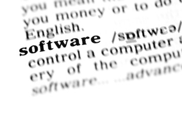 software (the dictionary project)