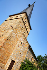 Evangelische Apostelkirche in Gütersloh, Deutschland