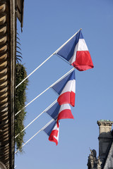 frankreichflaggen