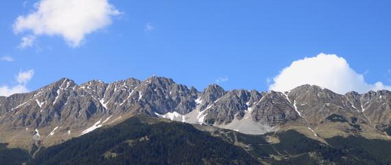 Gebirge über Innsbruck