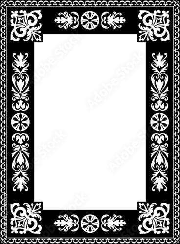 Bilderrahmen verzieren ornamente  Rahmen, Bilderrahmen, Ornamente, verziert, filigran, Retro ...