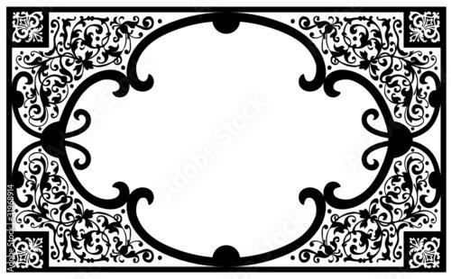 verzierung papier dokumente ornamente filigran edel stockfotos und lizenzfreie vektoren. Black Bedroom Furniture Sets. Home Design Ideas
