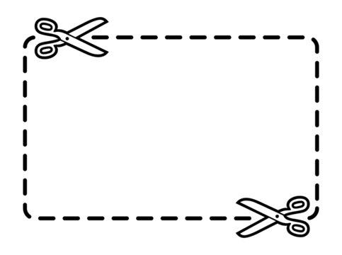 Vector coupon border