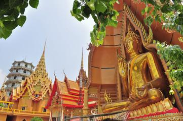 Big Buddha image at Tham Sua Temple, Kanchanaburi, Thailand