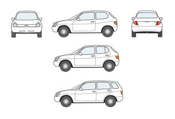 Kompaktauto,markenlos