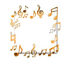 音符とボード