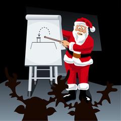 Santa's 'How To' presentation