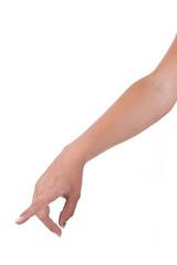 Zeigender Arm nach Geburt des Adam
