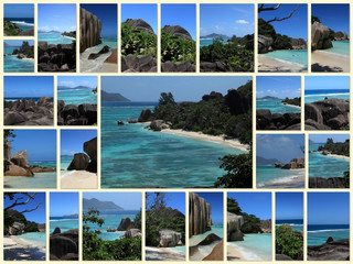 seychelles desktop collage