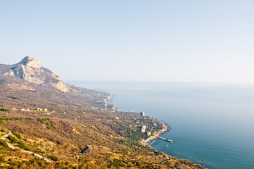 Морской пейзаж Ялта Крым Черное море